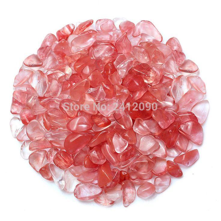 Natural Pink Glass Stone Decorative Glass Marbles Pebbles 250g Glass Beads for Vase Fish Tank Aquarium Decoration Garden Decor #Affiliate