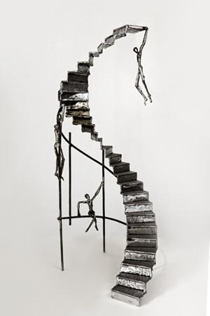 metal sculpture by                                 aris tabatsikos