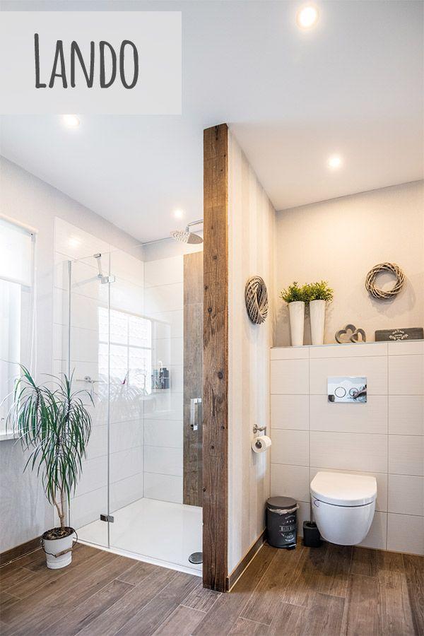 Badezimmer Dusche Lando In 2020 Badezimmer Dachschrage Wohnung Badezimmer Badezimmer Innenausstattung