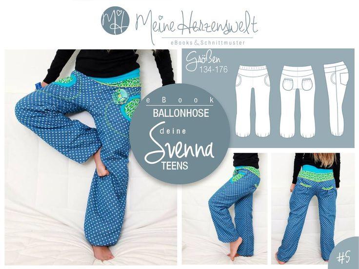 33 best Schnittmuster Hosen images on Pinterest | Sewing patterns ...