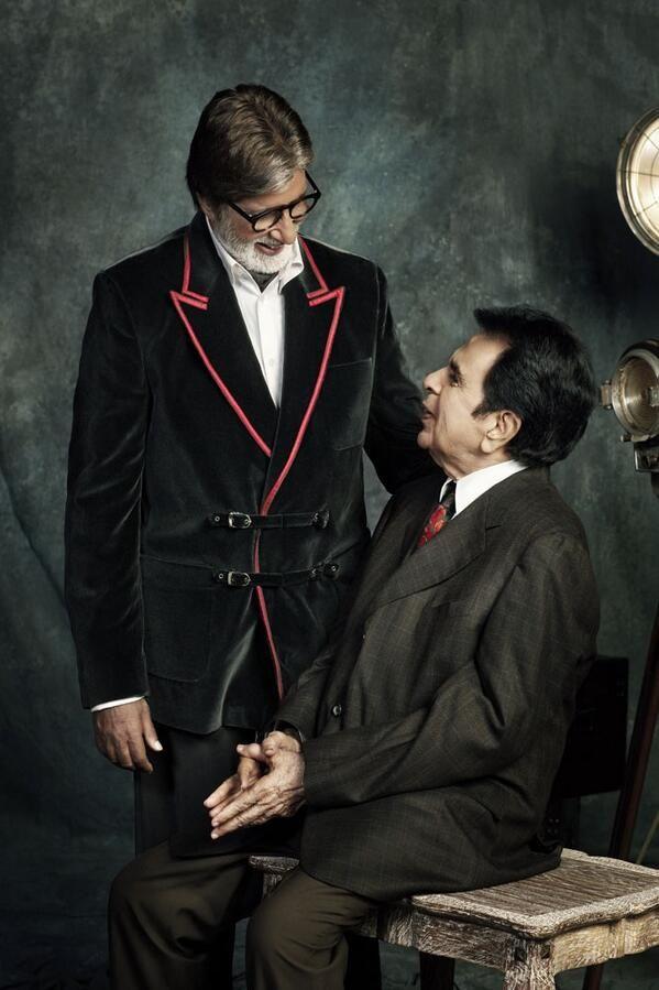 Filmfare Cover Shoot: Dilip Kumar, Big B, SRK | Bollywood | www.indiatimes.com