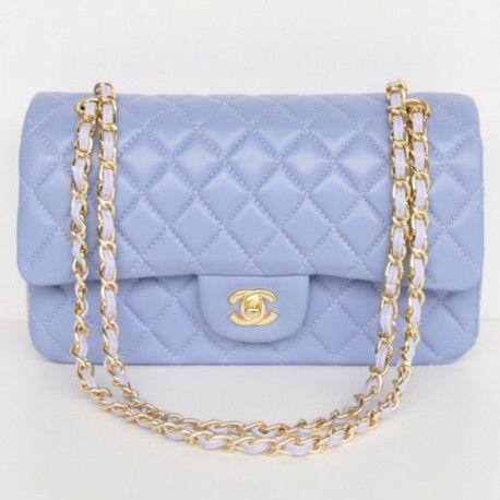 Chanel 2.55 Series Flap Bag 1112 Lavender Lambskin Golden Hardware - Dobestbuy Chanel USA Online Shop - Cheap Chanel Handbags USA Online Sale,Get 79% Discount Off Now!