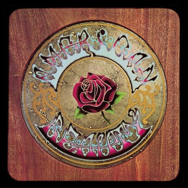 Grateful Dead American Beauty Album Cover