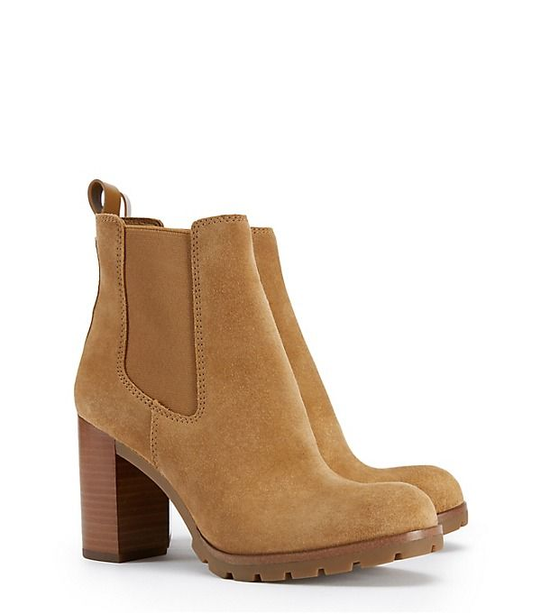 Tory Burch Bottines En Daim Stafford
