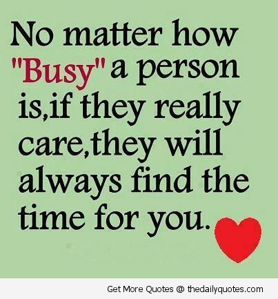 My husband always tells me this, but I never would accept it... But I'm finally starting to... When people really care and want to be friends, no matter how busy things get, they'll still want to make time for you. I would. If they're always telling you they're tired or busy but they manage time with other friends, there is a reason...