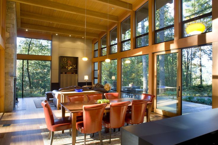 windows: Dining Rooms, Dreams Houses, Living Rooms, Home Ideas, Open Spaces, Open Floors Plans, Home Design Inspiration, Eating Houses, Design Home