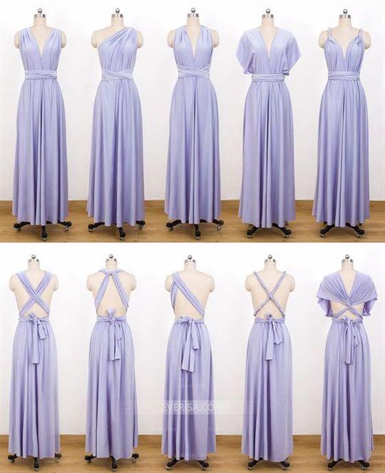 c823400e00 Lavender Infinity Bridesmaids Dress