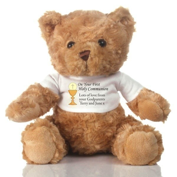 On Your First Holy Communion Personalised Teddy Bear