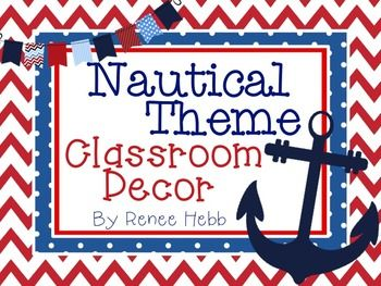 239 best nautical theme classroom images on pinterest classroom nautical theme classroom decor pack pronofoot35fo Choice Image