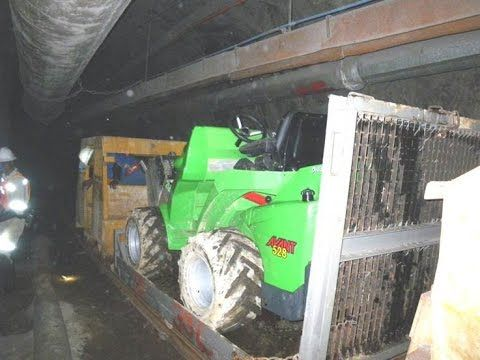 AVANT Loaders in underground conditions