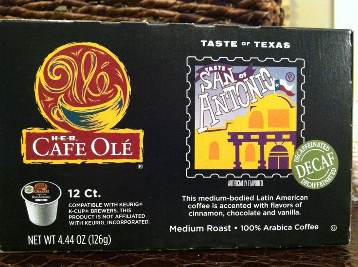 H E B Cafe Ole Taste Of San Antonio K Cups Also Available