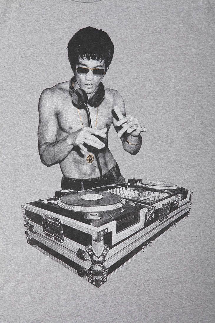 Bruce Lee DJ Tee