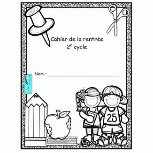 Cahier d'activités de la rentrée scolaire pour les élèves de 2e cycle