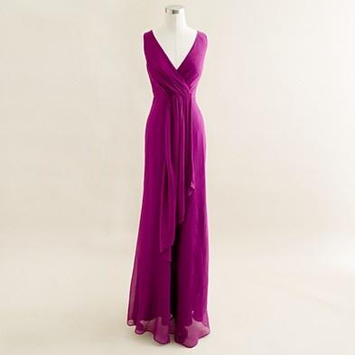J. Crew Evie dress - love the color