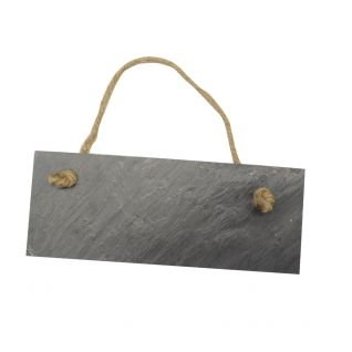 Add some style to your Open / Closed sign with our Rectangular Slate Door Plaque & Chalkboard  ---  Quick Info: Price £3.50  Our Rectangular Slate Door Plaque and Chalk Board is a perfectly practical home decoration.  ---  Available from Roman at Home.  Images Copyright www.romanathome.com