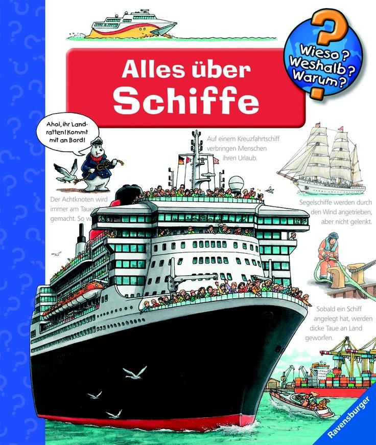 """Wie entsteht eigentlich die beliebte Sachbuch-Reihe """"Wieso? Weshalb? Warum?"""" von Ravensburger?  Wir haben den Illustrator Peter Nieländer bei seinen Recherchen für das Buch """"Alles über Schiffe"""" begleitet und ihm beim Zeichnen über die Schulter geschaut!"""