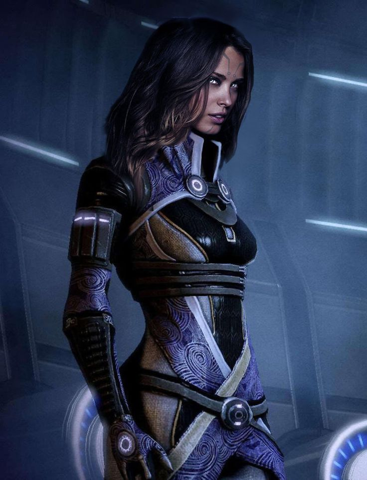Tali2 by CorruptTemplar  A Version of Tali unmasked, one of my favourite versions of her.