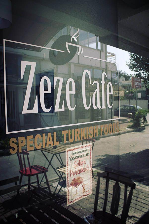 Zeze Cafe - Antalya cafeler . Yansımalar.