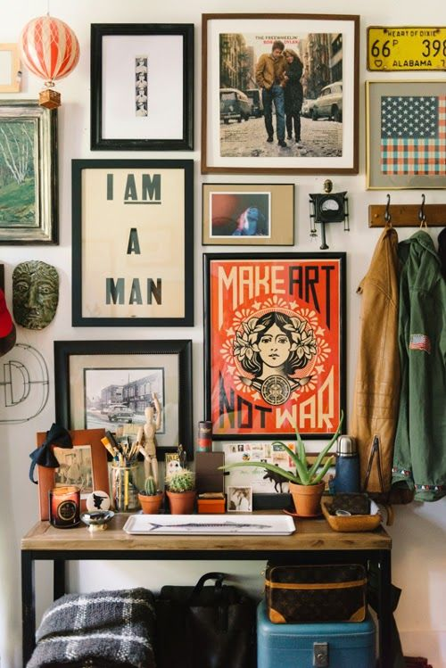 design is mine : isn't it lovely?: INTERIOR INSPIRATION : ART ON DISPLAY.