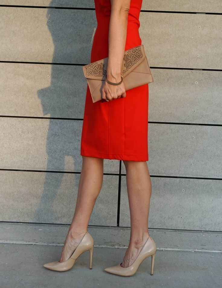 Red Dress With Red Heels