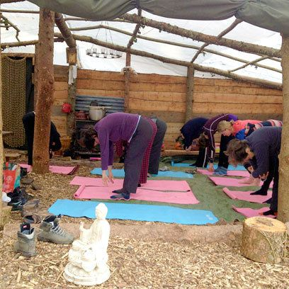 Babes in the Woods hen parties, yoga! Awesome idea, love it ellen For hen do:-)