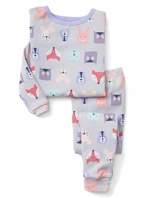 Woodland Creatures Pajamas | Gap