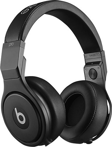 Beats by Dr. Dre - Beats Pro Over-the-Ear Headphones - Infinite Black
