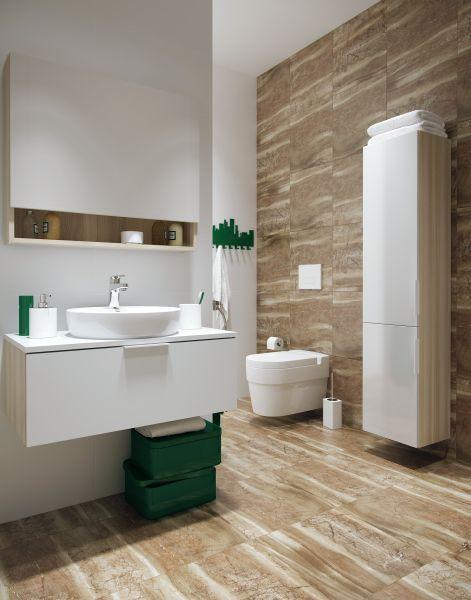 Płytki łazienkowe Imitujące Drewno Cegłę Beton Kamień Okładziny