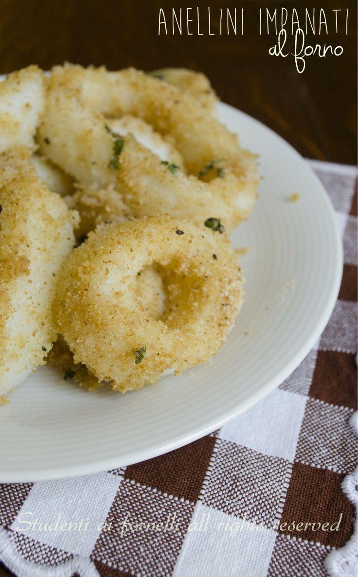 anellini impanati al forno saporiti e leggeri ricetta anelli di totano calamari