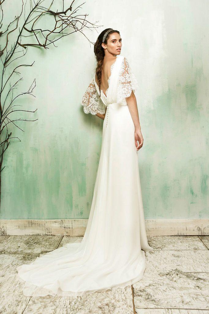 10 best vestido novia informal images on Pinterest | Bridal gowns ...