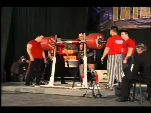 Andrey Malanichev - Squat - 470 kg, 490 kg