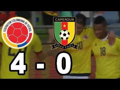 Colombia vs Camerun 4-0 Goles Resumen Amistoso Internacional 2017 - VER VÍDEO -> http://quehubocolombia.com/colombia-vs-camerun-4-0-goles-resumen-amistoso-internacional-2017   	 Colombia vs Camerun 4-0 Goles Resumen Amistoso Internacional 2017 Gol James Rodriguez Gol Jerry Mina Gol Jerry Mina Gol Jose Izquierdo	 Créditos de vídeo a YouTube channel