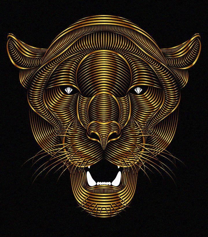 """Popatrz na ten projekt w @Behance: """"Panther"""" https://www.behance.net/gallery/20420363/Panther"""