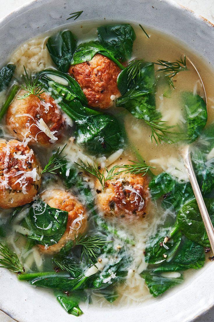 Italian Wedding Soup With Turkey Meatballs Recipe Recipe Nyt Cooking Wedding Soup Italian Wedding Soup
