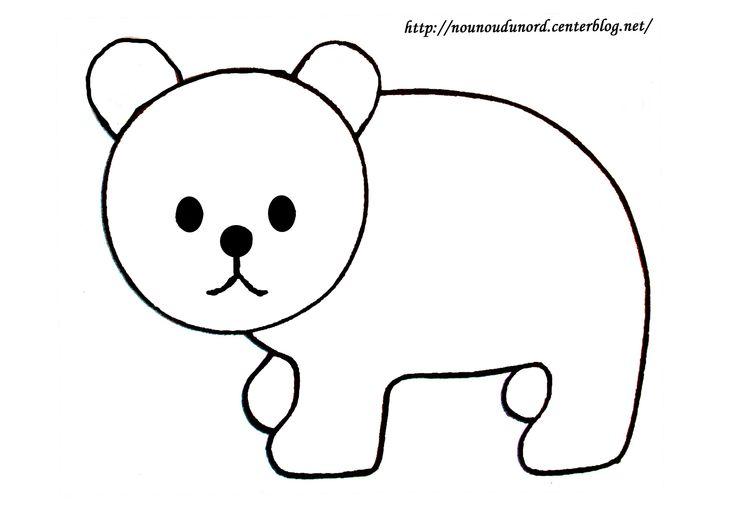 comment dessiner des ours baby pinterest comment