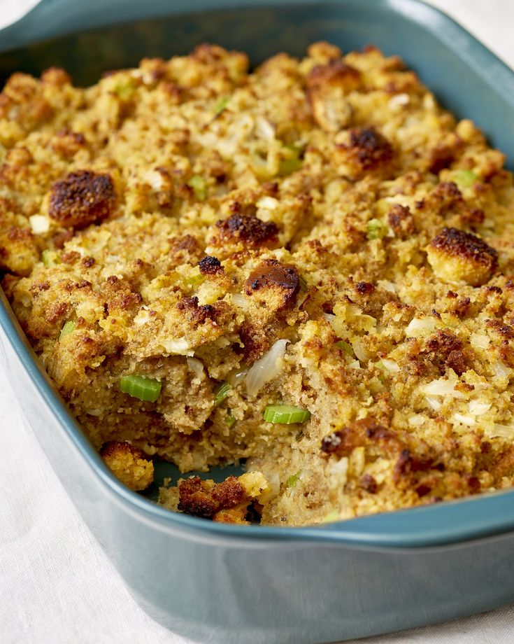 Recipe: Southern-Style Cornbread Dressing — Recipes from The Kitchn #recipes #food #kitchen