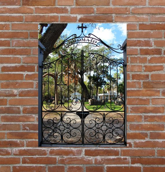 st augustine photograph florida metal print st augustine metal wall art large metal