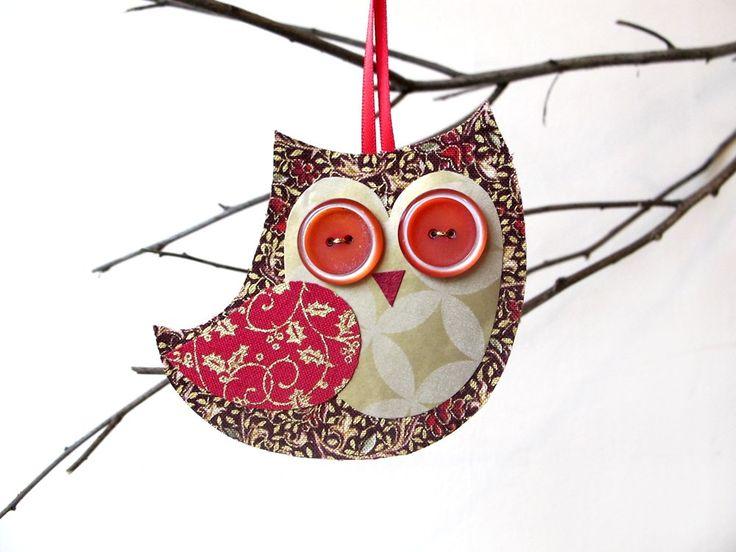 photos887 10 Joyful Christmas Owls Decorations