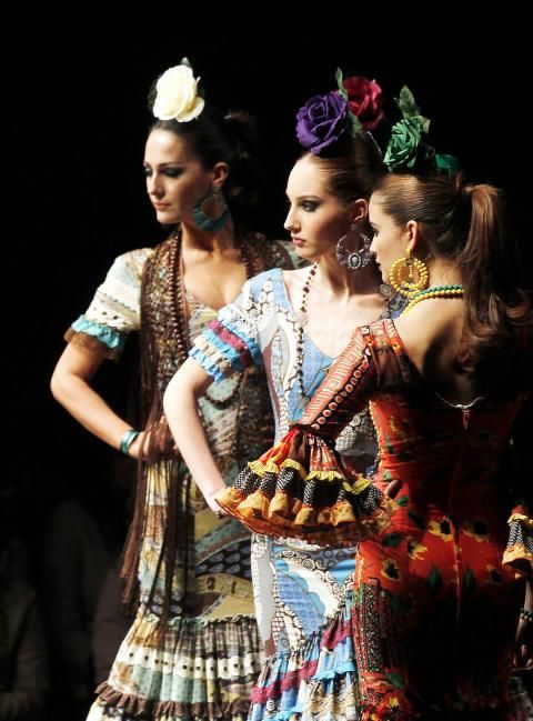 Flamenco fashion week