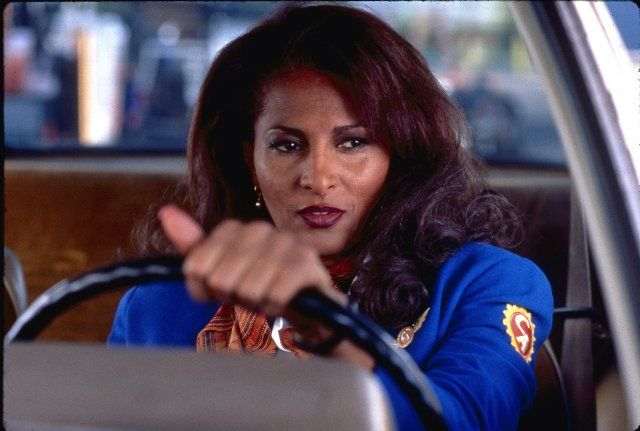 Pam Grier photos, including production stills, premiere photos and other event photos, publicity photos, behind-the-scenes, and more.