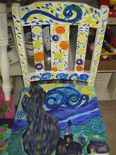Think Create Art: Chairs That Care!