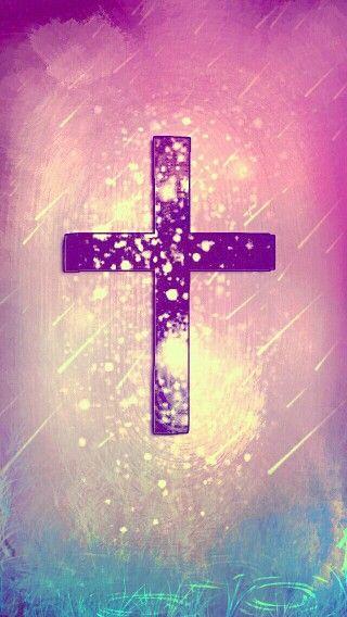 glitter cross