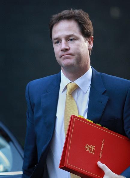 Nick Clegg Looking Sad