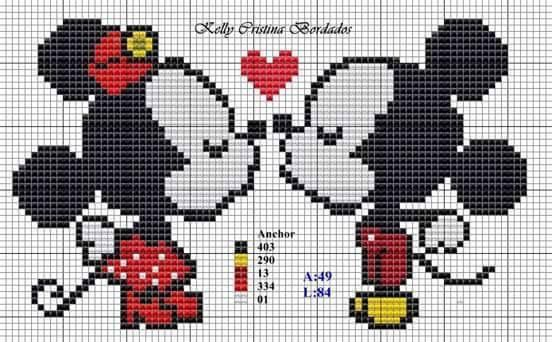 Minnie y mickey