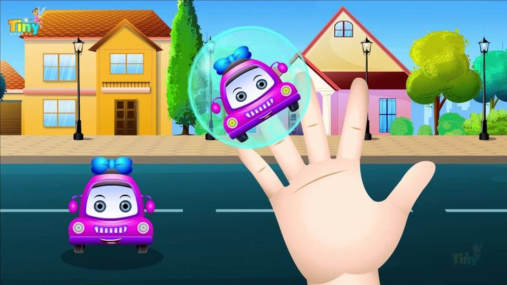 Car Finger Family