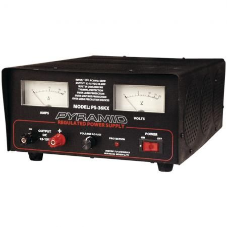 A good power supply is good for bench testing or your radio shack.  Make sure the  volts & amps are rated enough to handle your radios.  Message from Radio Dr.