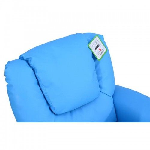 HOMCOM Childrens Recliner Armchair Games Chair Sofa with Cup Holder Blue | aosom.co.  sc 1 st  Pinterest & Best 25+ Gaming chair uk ideas on Pinterest | Wood spool Wood ... islam-shia.org