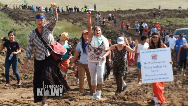 Dakota Access Pipeline Company Attacks Native American Protesters with D...