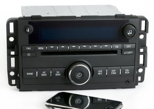 2009-2010 Chevy Impala AMFM CD Aux Player w Bluetooth Music Part Number 20914861