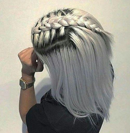 grey hair styles ideas